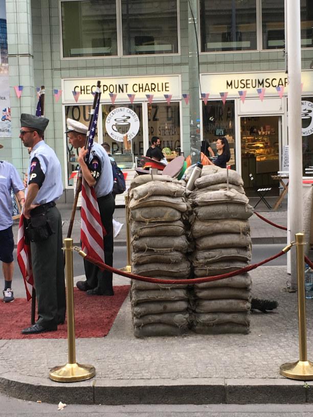 Kurzurlaub Berlin, Deutschland, Checkpoint Charlie