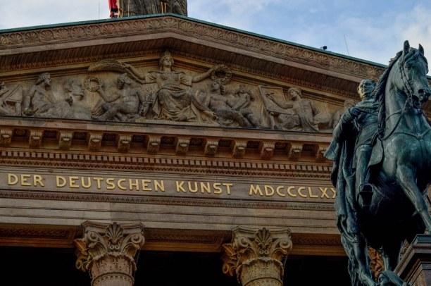 Kurzurlaub Berlin, Deutschland, Natürlich darf ein Besuch im Berliner Museum der Deutschen Kunst nich