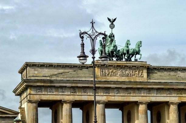 Kurztrip Berlin, Deutschland, Gestartet haben wir unseren Rundgang durch Berlin am Brandenburger Tor