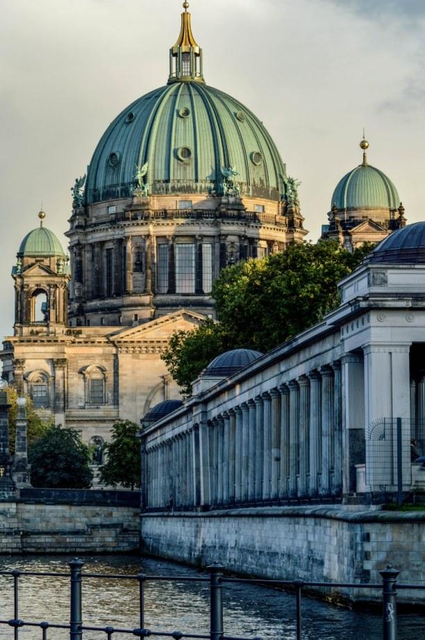 Kurztrip Berlin, Deutschland, Abschließender Blick auf die Museumsinsel.