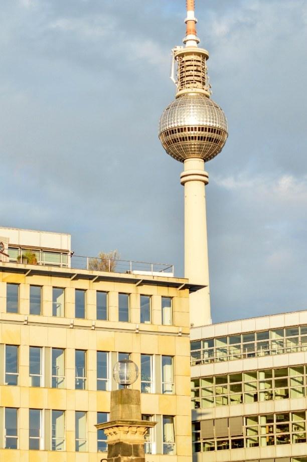 Kurztrip Berlin, Deutschland, Und von hier aus kann man auch schon den bekannten Berliner Fernsehtur