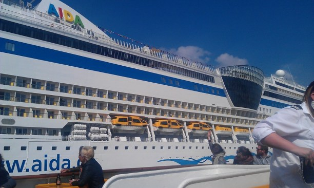 Kurztrip Hamburg, Deutschland, Irgendwann in ferner Zukunft mal auf dem Schiff! ;)