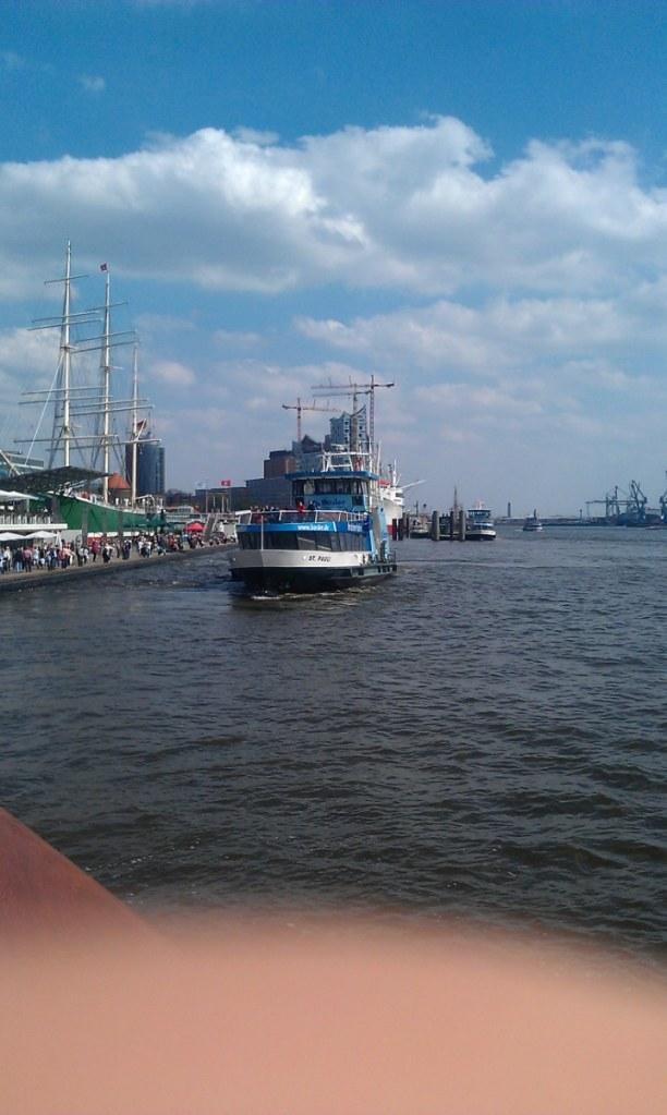 Kurztrip Hamburg, Deutschland, Im Hafen!