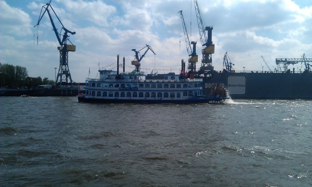 Kurzurlaub Hamburg, Deutschland, Auch im Hafen!