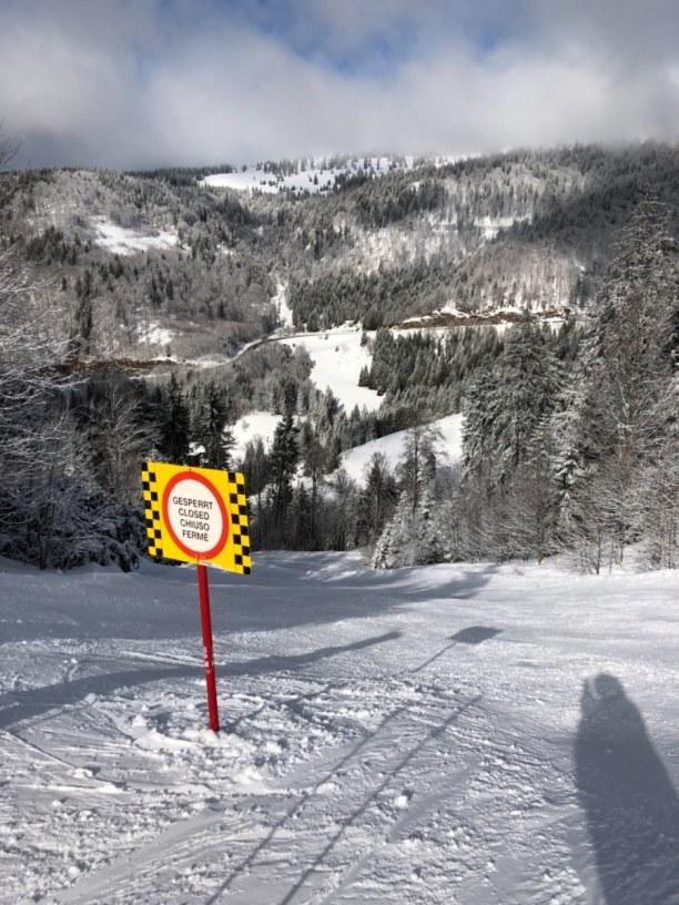 Kurzurlaub Schwarzwald, Deutschland, Blick nach Fahl auf der FIS-Rennstrecke