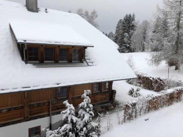 Kurztrip Schwarzwald, Deutschland, typisches Schwarzwälder Haus