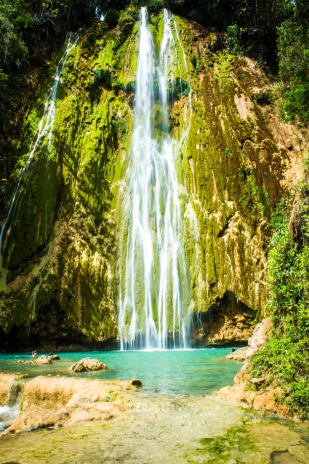 Langzeiturlaub Halbinsel Samana, Dominikanische Republik, Ein sehr schöner Wasserfall.