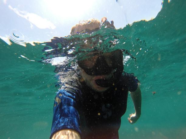 Kurzurlaub Galapagos (Stadt), Ecuador, Ecuador, Während dieser Reise gibt es einige Male die Möglichkeit zu Schnorch
