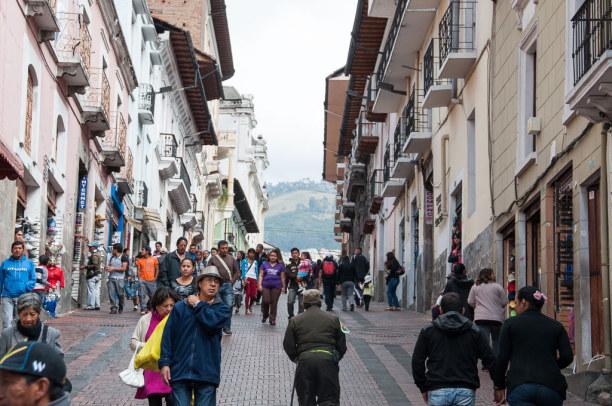 Kurzurlaub Quito (Stadt), Ecuador, Ecuador, Etwas Kondition schadet in Quito nicht, denn viele Straßen sind sehr