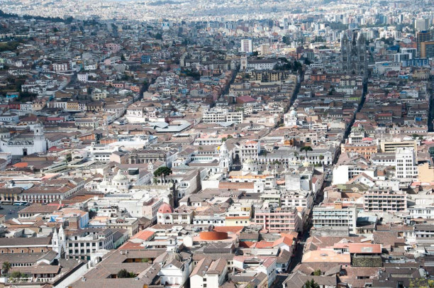 Kurztrip Quito (Stadt), Ecuador, Ecuador, Die Stadt ist, wie in Südamerika üblich, schachbrettförmig angelegt