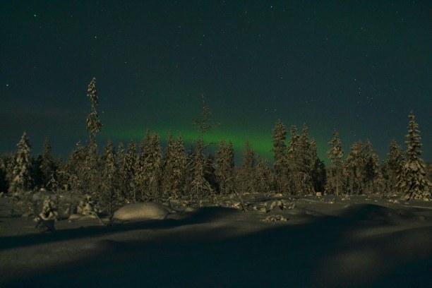 Kurztrip Lappland, Finnland, Polarlichter