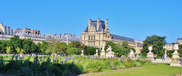 Kurztrip Ile de France, Frankreich, Zum spazieren gehen oder faulenzen sind die Gärten von Paris ideal.