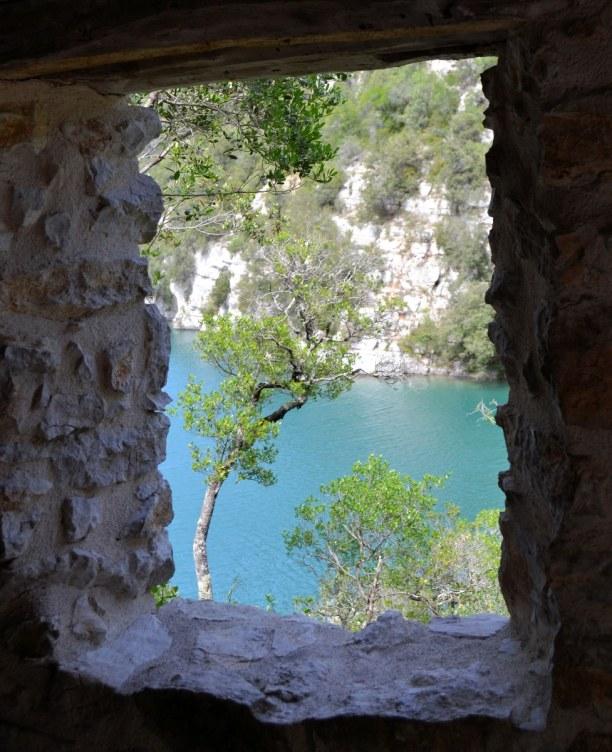 Eine Woche Provence, Frankreich, Die Schlucht von Verdon kannst du entweder zu Fuß bewältigen, oder e
