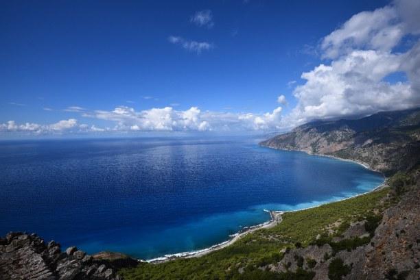 Kurzurlaub Kreta, Griechenland, Bei Chania findest du viele Strände. Da gibt es zum Beispiel den Agia