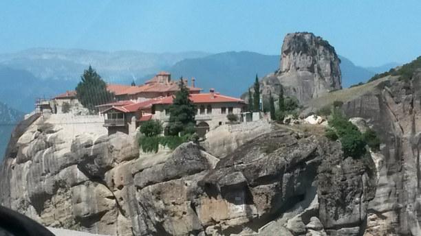 Eine Woche Peloponnes, Griechenland, Meteora