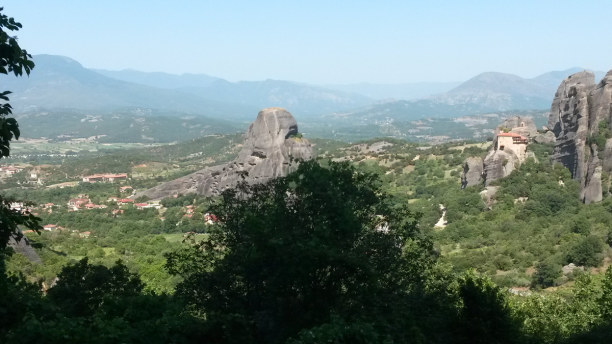 1 Woche Peloponnes, Griechenland, Meteora Klöster