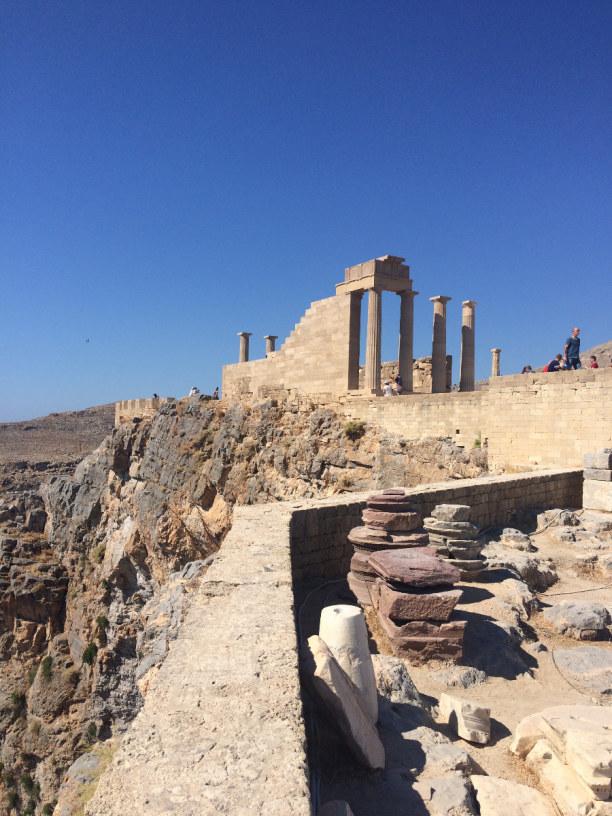 10 Tage Rhodos, Griechenland, Akropolis Lindos