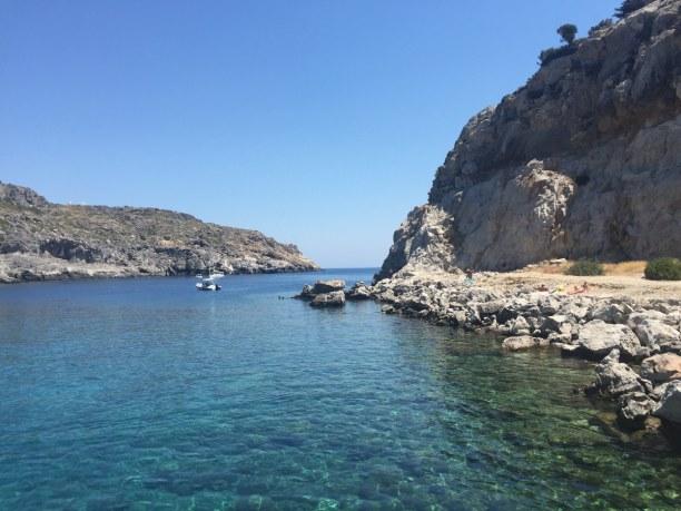 Kurzurlaub Rhodos, Griechenland, Faliraki liegt an der Ostküste und ist ein beliebter Touristenort. Am