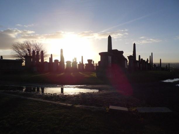 Kurztrip Schottland, Großbritannien, Necropolis Glasgow