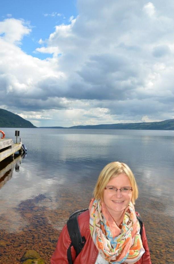 2 Wochen Schottland, Großbritannien, Katrin, hast Du das zucken gesehen? Ach, wieder nur ein Fisch. Trotz g