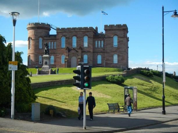 Zwei Wochen Schottland, Großbritannien, 1. Station auf der Reise - Inverness