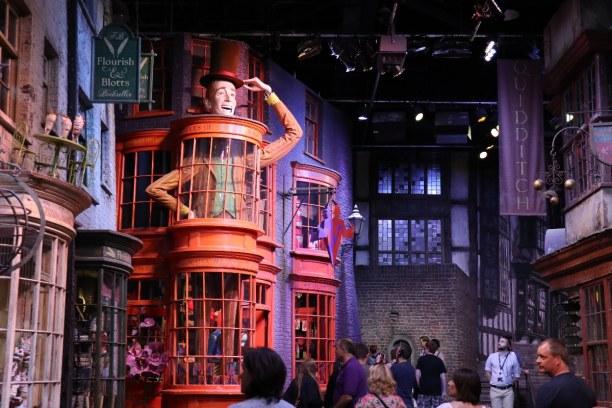 Kurztrip Südengland, Großbritannien, Ein Highlight der Harry Potter Studio Tour ist ein Gang durch die Wink
