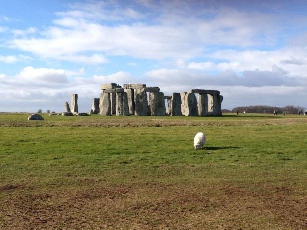 Zwei Wochen Südengland, Großbritannien, Stonehenge