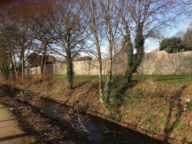 Zwei Wochen Südengland, Großbritannien, City Walls Walk