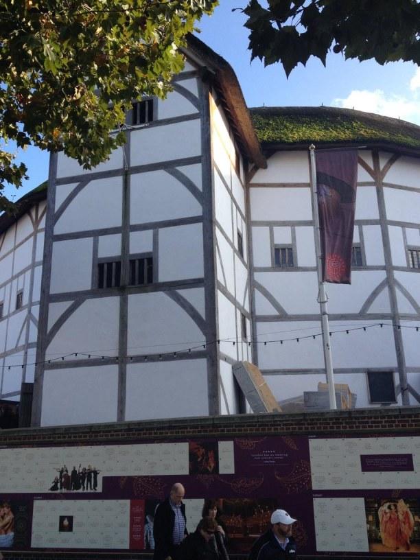 """Zwei Wochen Südengland, Großbritannien, Theater """"The Globe"""""""