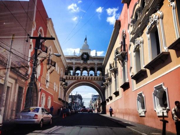 Langzeiturlaub Guatemala, Guatemala, Der Stadtkern von Guatemala City