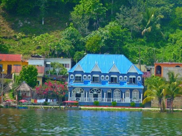 Langzeiturlaub Guatemala, Guatemala, Eine Bootstour auf dem Lago Peten Itza ist ein Muß in Flores. Boote k
