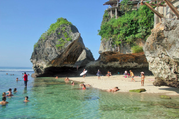 10 Tage Bali, Indonesien, Uluwatu Beach