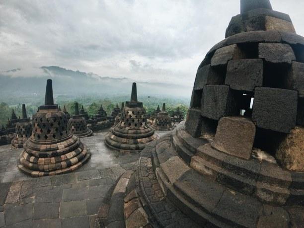 Langzeiturlaub Bali, Indonesien, Borobodur Tempel