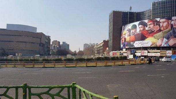 Kurztrip Teheran (Stadt), Iran, Iran, Valiasr-Straße