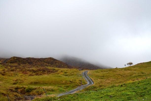 1 Woche Island, Island, Wenn fast alles im Nebel verschwindet... :)