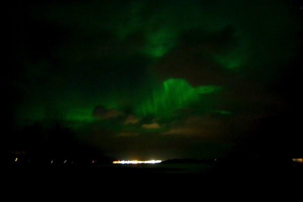 1 Woche Island, Island, Polarlichter bei Reykjavík! <3 Leider bin ich in Nachtfotografie noch