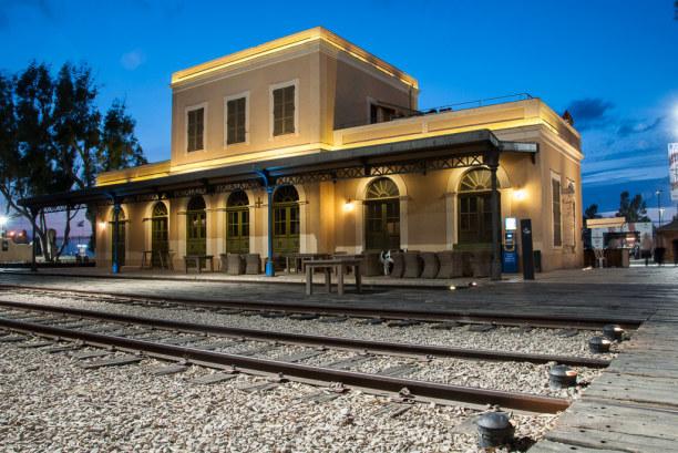 Kurztrip Tel Aviv & Umgebung, Israel, Eines der Ausgehviertel von Tel Aviv-Jaffa liegt im alte Bahnhof in Ja