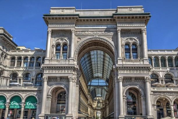 Kurzurlaub Lombardei, Italien, Galleria Vittorio Emanuele