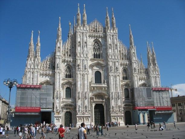 Kurzurlaub Lombardei, Italien, Der Mailänder Dom ist wohl das Wahrzeichen der Stadt. Er besteht aus