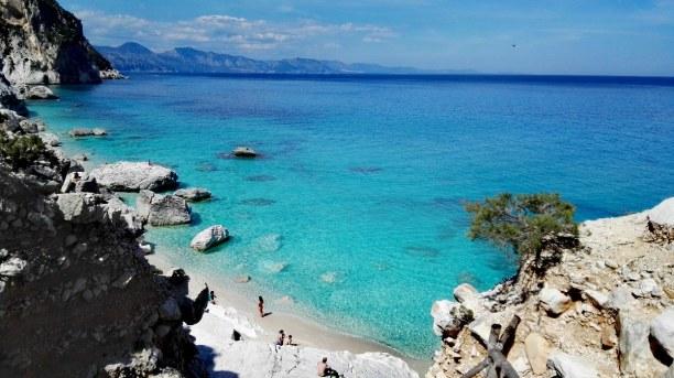 2 Wochen Sardinien, Italien, Die Bucht des Cala Goloritzè zählt zu den Schönsten in Sardinien. N