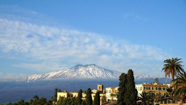 Zwei Wochen Sizilien, Italien, Der Ätna ist der größte und aktivste Vulkan in Europa.
