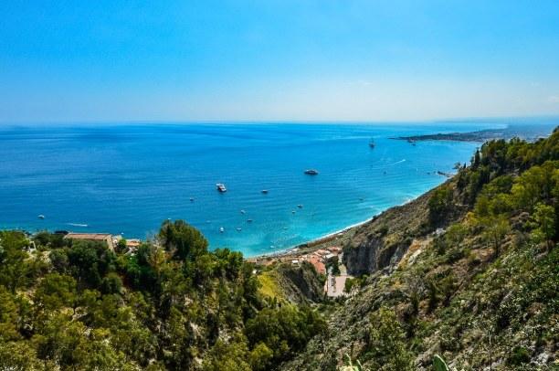 2 Wochen Sizilien, Italien, Auf Sizilien gibt es einige tolle Strände und Buchten:  Wenige Kilome