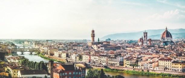 1 Woche Toskana, Italien, Florenz ist die Hauptstadt der Toskana und gilt als Wiege der Renaissa