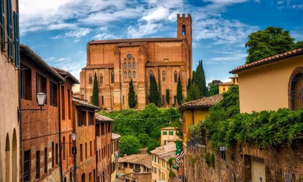 Eine Woche Toskana, Italien, Siena zählt wohl zu den schönsten Städten in der Toskana. Vor allem
