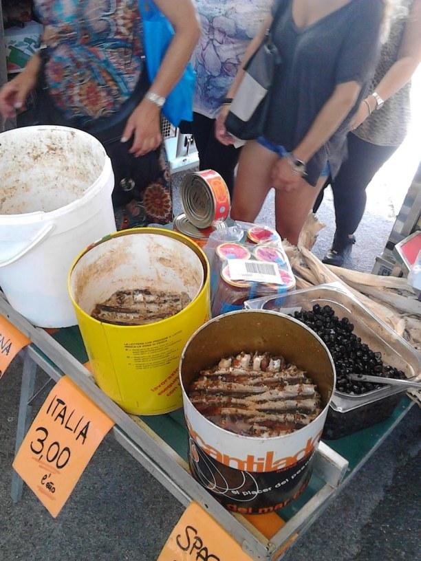 2 Wochen Toskana, Italien, Feilgebotener Fisch