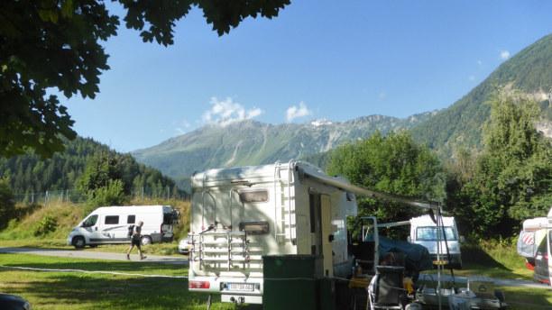 Kurzurlaub Trentino-Südtirol, Italien, Ötztal Camping Tirol