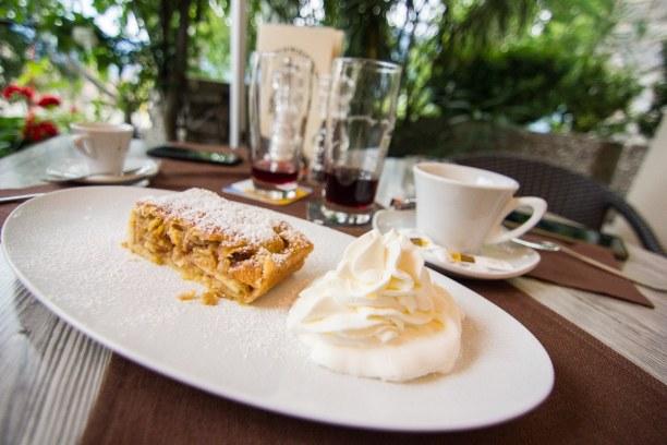 Kurztrip Trentino-Südtirol, Italien, Das Dessert darf natürlich auch nicht fehlen und das muss in Südtiro