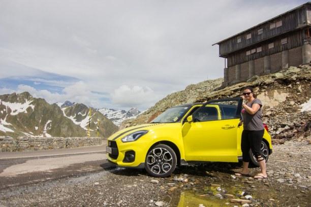 Kurztrip Trentino-Südtirol, Italien, Der Blick auf die 3.000er der Ötztaler Alpen. Ein unvergleichliches P