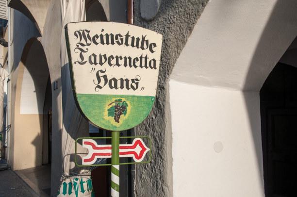 Kurztrip Trentino-Südtirol, Italien, ...oder auch eine bodenständige Tavernetta.