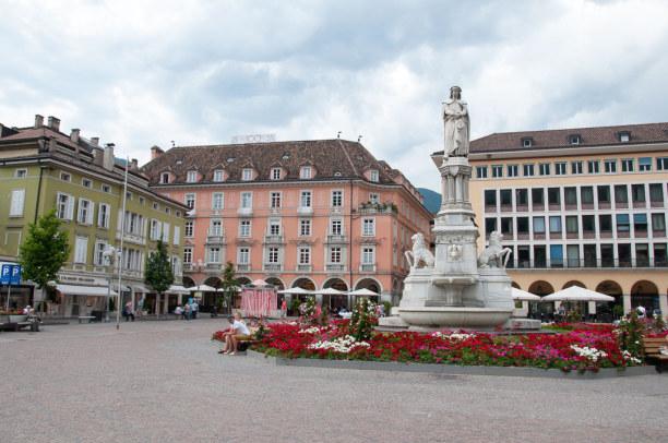 Kurztrip Trentino-Südtirol, Italien, Unser RailRoadTrip durch das Etschtal beginnt in Bozen.